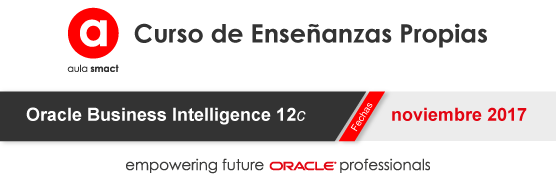 CEP Oracle Business Intelligence 12c – aula smact (by avanttic)