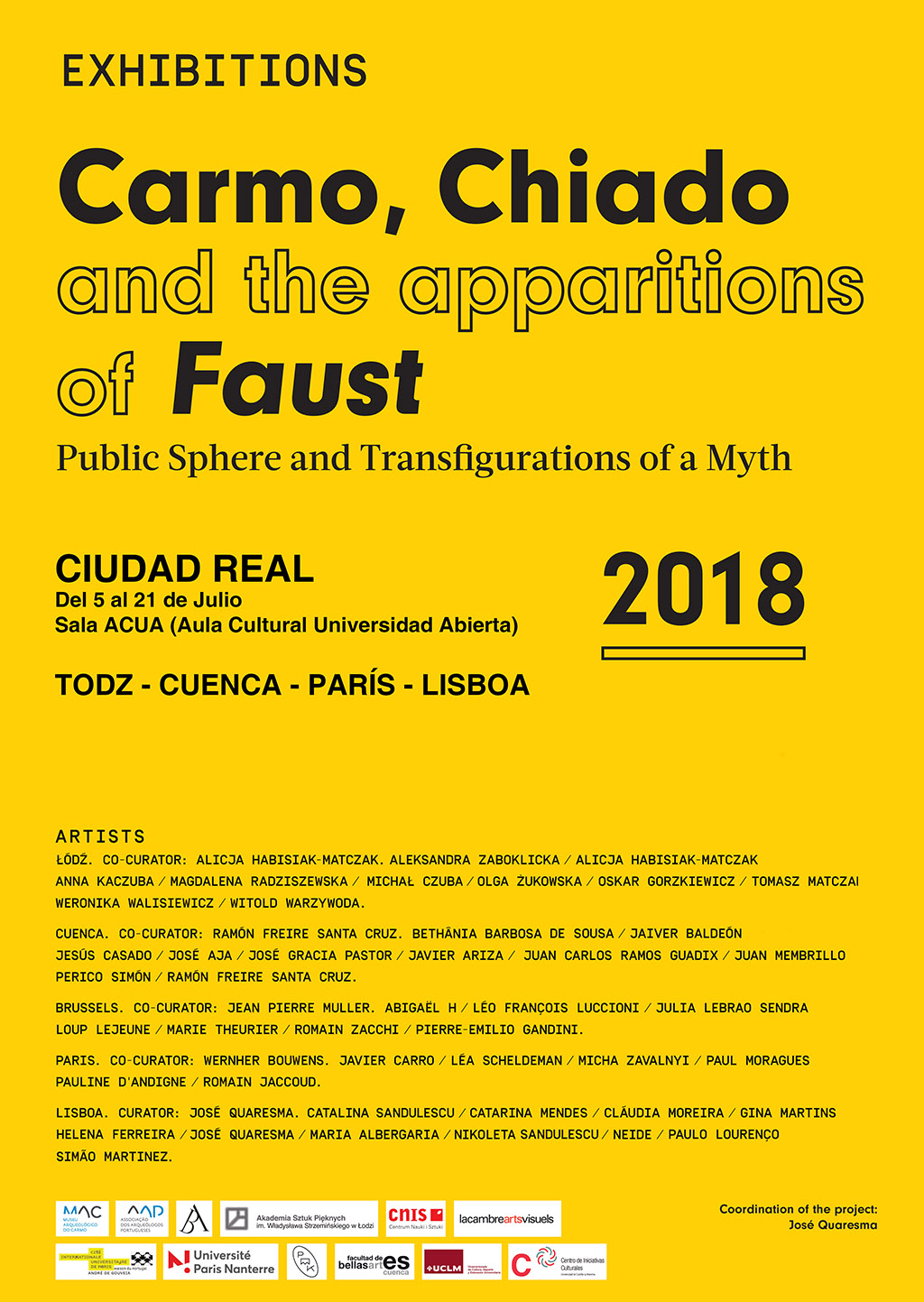 Carmon, Chiado and the apparitions of Faust