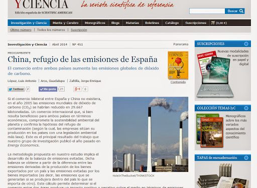 Summary paper in Investigación y Ciencia, the Spanish Edition of Scientific American