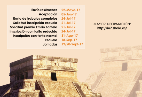 Call for papers «SHAIO 7th Conference of Input-Output Analysis» Mérida, Yucatán, Mexico