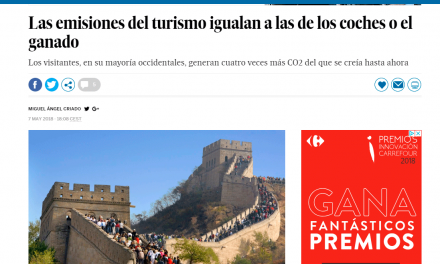 GEAR in national press (Materia – El País)