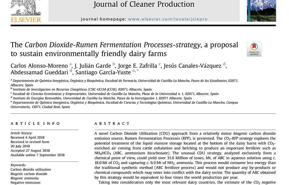 NEW PUBLICATION IN THE JCP (MULTIDISCIPLINARY COLLABORATION)