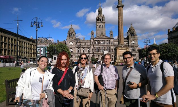 Memories of Glasgow and Santiago…