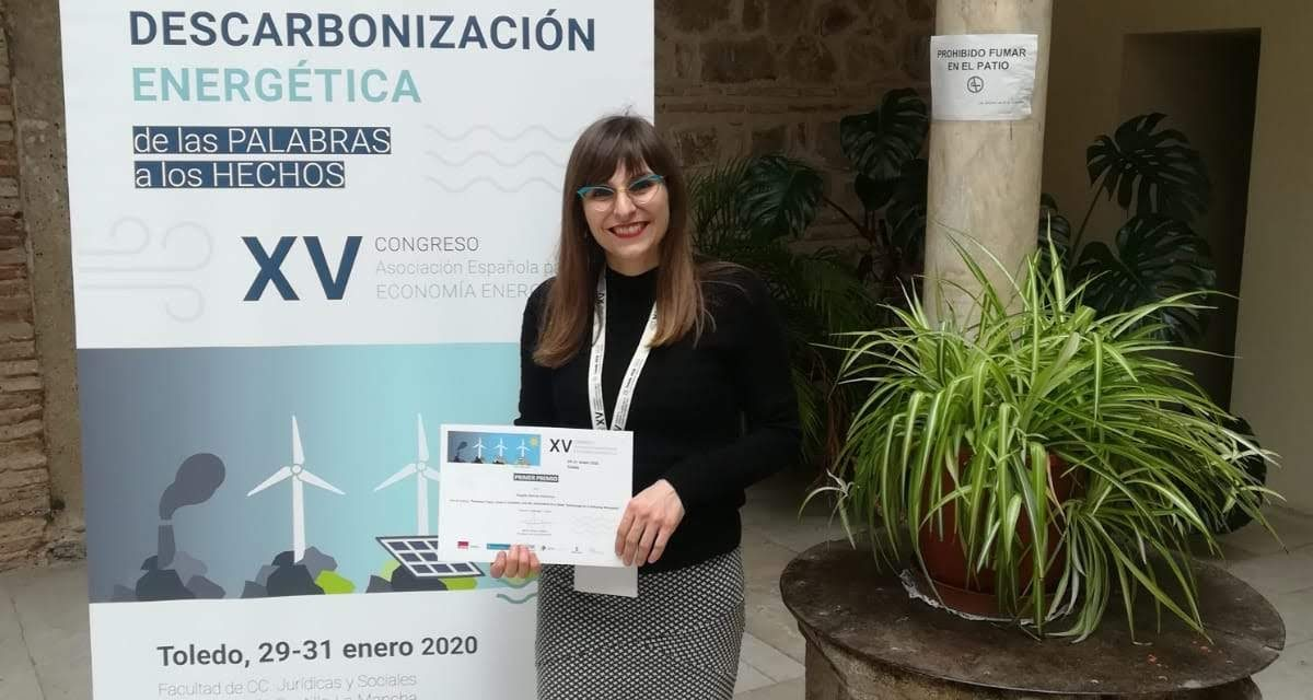 GEAR MEMBER WINS THE ENERGY ECONOMICS YOUNG RESEARCHERS AWARD!