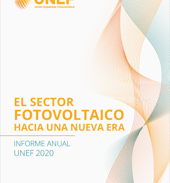 GEAR develops the photovoltaic sector macroeconomic report for the 2020 UNEF annual report