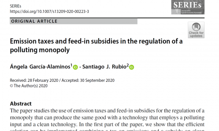NEW PUBLICATION IN SERIES – JOURNAL OF THE SPANISH ECONOMIC ASSOCIATION