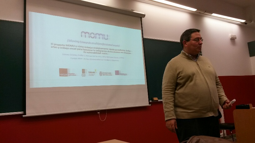 MOMU project dissemination at Congress of Social Work in San Sebastian
