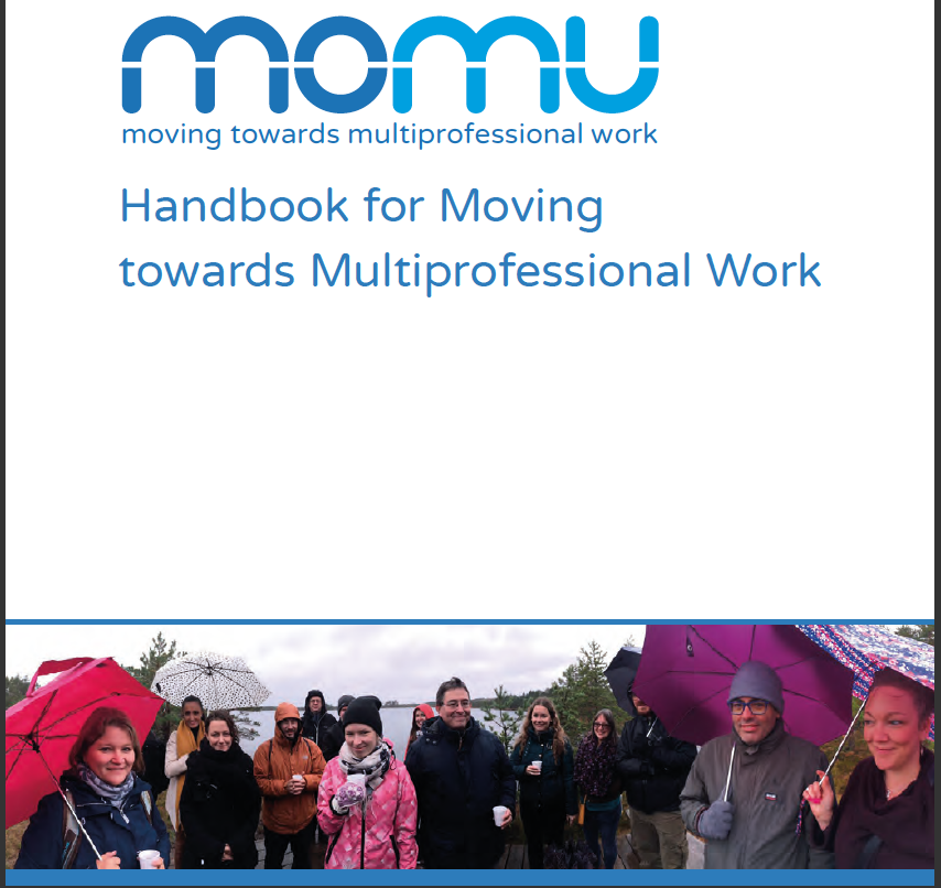 Hanbook for multiprofessional work has been published
